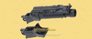 EGLM SCAR Grenade Launcher (H-05 Black) by SEALs